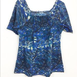 Tops - 🌺SOLD🌺 Abstract Blouse, Size XL